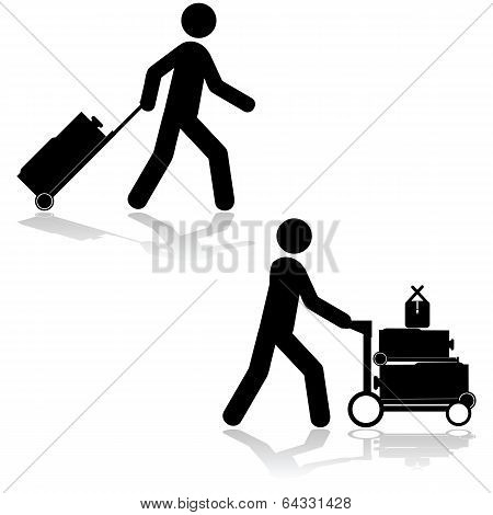 Carrying Luggage