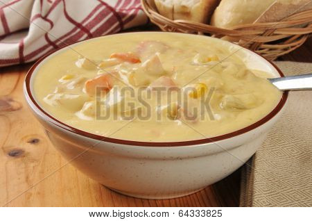 Chicken Corn Chowder