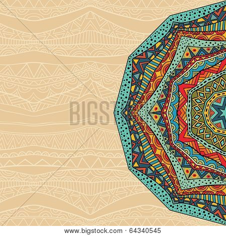 Ethnic Abstract Background
