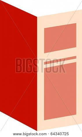 Vector illustration of an entryway,