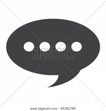 stock illustration - comment icon