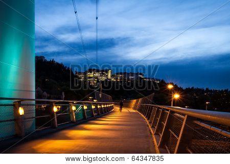 Overpass In Portland Oregon