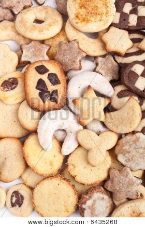 various holiday cookies