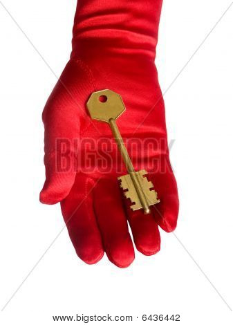 Hand With Key