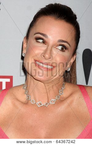 LOS ANGELES - APR 30:  Kyle Richards at the NCTA's Chairman's Gala Celebration of Cable with REVOLT at The Belasco Theater on April 30, 2014 in Los Angeles, CA