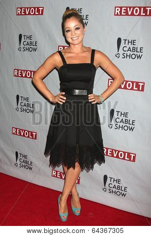 LOS ANGELES - APR 30:  Marcela Valladolid at the NCTA's Chairman's Gala Celebrationn of Cable with REVOLT at The Belasco Theater on April 30, 2014 in Los Angeles, CA