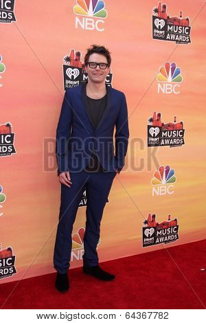 LOS ANGELES - MAY 1:  Bobby Bones at the 1st iHeartRadio Music Awards at Shrine Auditorium on May 1, 2014 in Los Angeles, CA