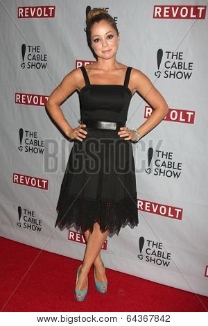LOS ANGELES - APR 30:  Marcela Valladolid at the NCTA's Chairman's Gala Celebration of Cable with REVOLT at The Belasco Theater on April 30, 2014 in Los Angeles, CA