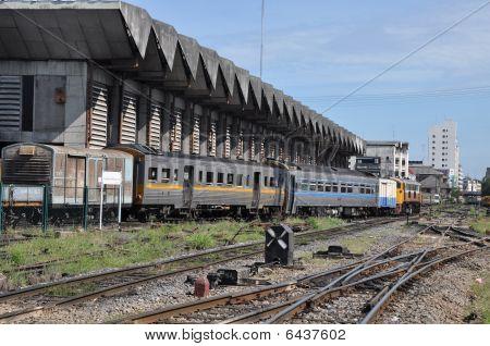 Train Garage Station