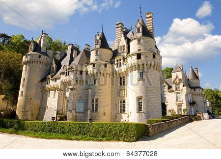Usse castle in Loire Valley, France