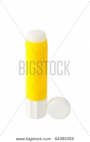 Glue Stick Isolated On White Background