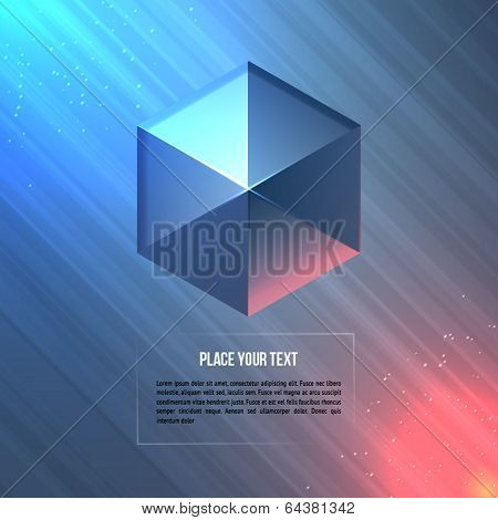 Geometric shape. Vector illustration.