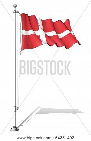 Flag Pole Denmark