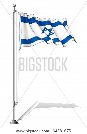 Flag Pole Israel
