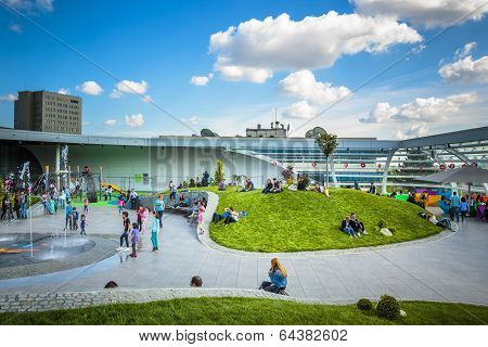 Promenada Mall Recreation Area, Bucharest, Romania