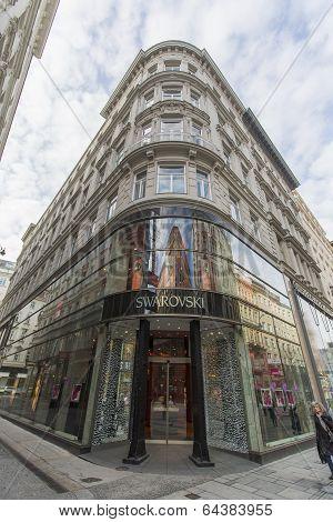 Swarovski Shop In Vienna