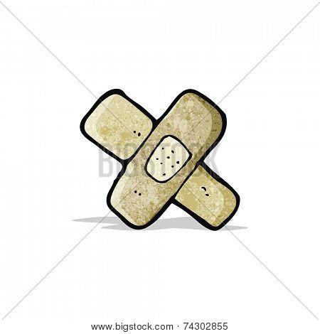 cartoon sticking plaster