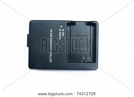 The camera battery charger