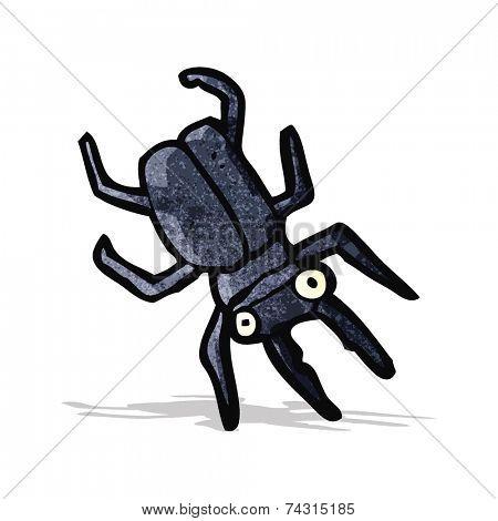 cartoon giant bug