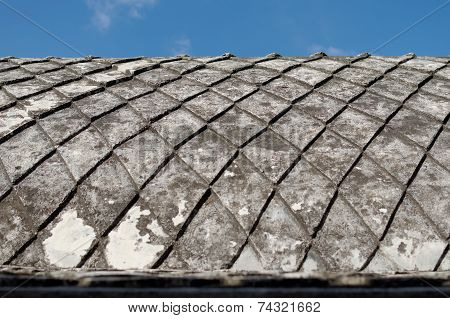 concrete roof at taman sari water castle - the royal garden of sultanate of jogjakarta