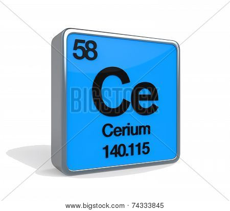 Cerium Element Periodic Table