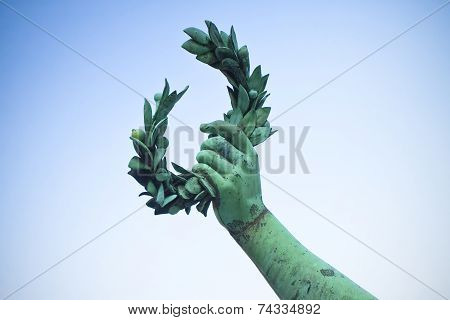 Laurel Wreath - concept image