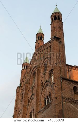 The beautiful cathedral of cremona