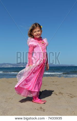 Princess on the beach