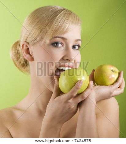 Biting Apple