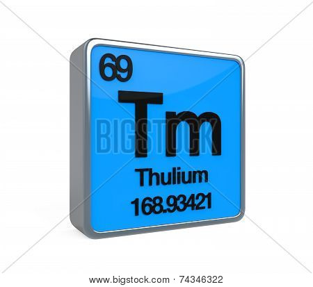 Thulium Element Periodic Table