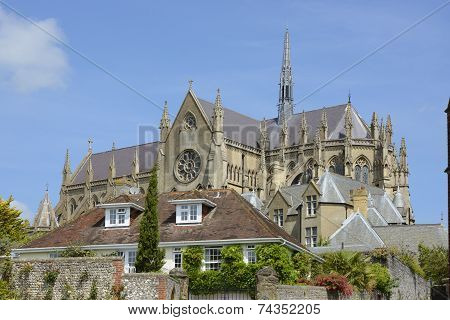 Arundel Cathedral. Sussex. England