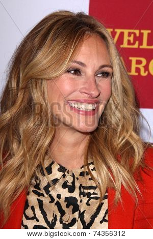 LOS ANGELES - OCT 17:  Julia Roberts at the 10th Annual GLSEN Respect Awards at Regent Beverly Wilshire on October 17, 2014 in Beverly Hills, CA