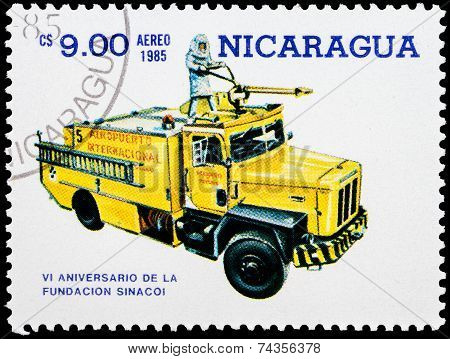 Post Stamp From Nicaragua