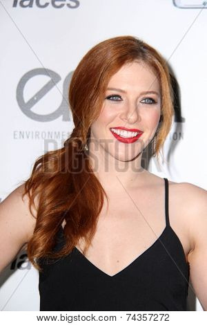 LOS ANGELES - OCT 18:  Rachelle Lefevre at the 2014 Environmental Media Awards at Warner Brothers Studios on October 18, 2014 in Burbank, CA