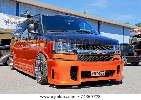 Chevrolet Express Van in a Show