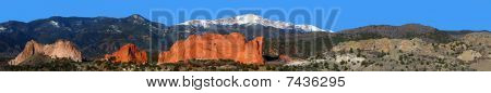 Garden of the Gods panoramic