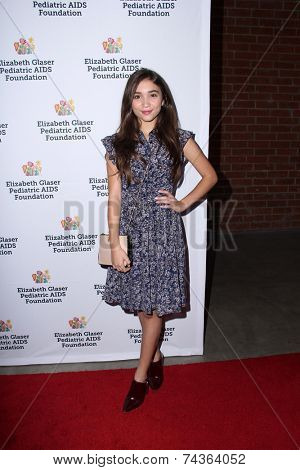 LOS ANGELES - OCT 19:  Rowan Blanchard at the 25th Annual