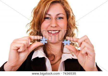 Busineswoman una solución