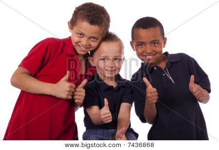 Three young boys