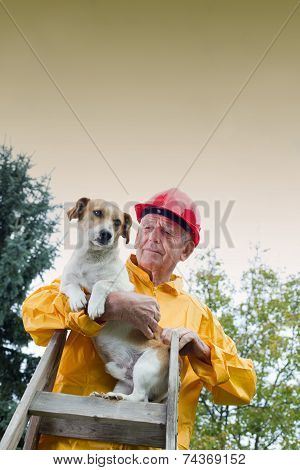 Rescuing Dog