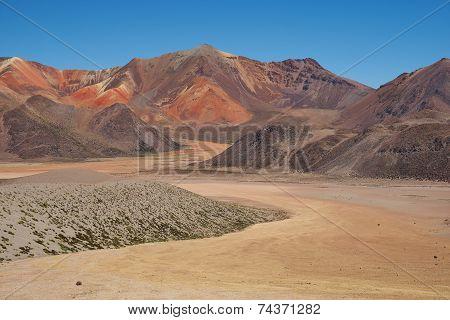 Colourful Mountains of the Atacama Desert