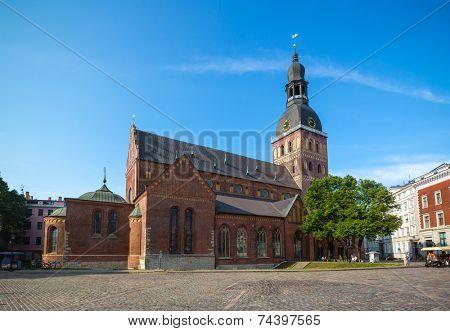 Riga cathedral (Riga, Latvia)