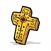 pic of crucifix  - cartoon crucifix cross - JPG