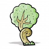 picture of twisty  - cartoon twisty tree - JPG
