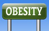stock photo of obese  - obesity and overweight or obese people suffer eating disorder and can be helped by dieting  - JPG