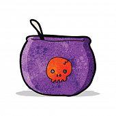 picture of cauldron  - cartoon spooky cauldron - JPG
