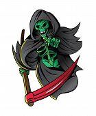 picture of grim-reaper  - Grim Reaper Editable  - JPG