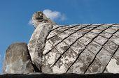 picture of sari  - concrete roof at taman sari water castle  - JPG