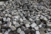 picture of paving stone  - construction material - JPG