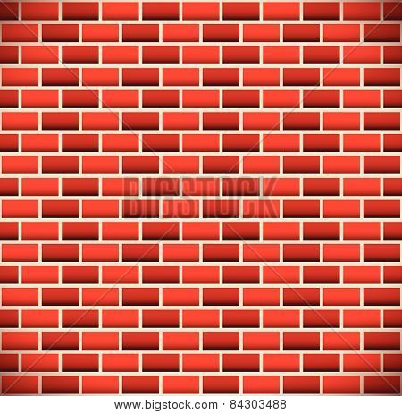 Brickwall, Tileable Brick Background